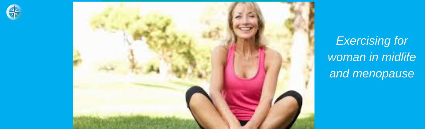 Blog Exercising for woman in midlife and menopause
